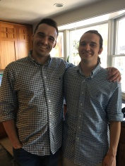 Adam and Wes in California spring 2018