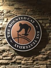 The bar at the Hilton hotel-- cool logo!